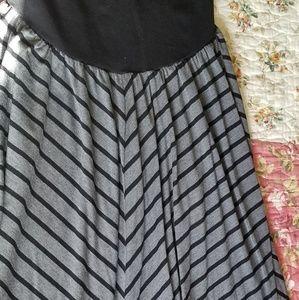 Oh Baby Maternity Maxi Skirt, XL